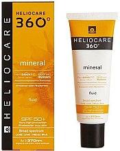 Парфюмерия и Козметика Слънцезащитен минерален флуид за тяло - Heliocare 360? Fluid Cream SPF 50+ Sunscreen