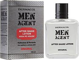 Парфюми, Парфюмерия, козметика Лосион след бръснене - Dermacol Men Agent Original After Shave Lotion