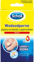 Парфюми, Парфюмерия, козметика Водоустойчиви лепенки - Scholl Waterproof Plasters