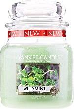 """Парфюми, Парфюмерия, козметика Ароматна свещ """"Дива мента"""" - Yankee Candle Wild Mint"""