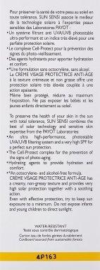 Слънцезащитен крем за лице против стареене SPF50 - Payot Sun Sensi Protective Anti-aging Face Cream — снимка N3