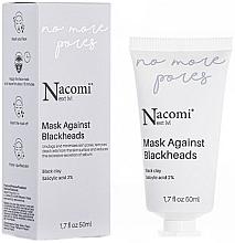 Парфюмерия и Козметика Маска за лице против черни точки - Nacomi Next Level Mask Against Blackheads