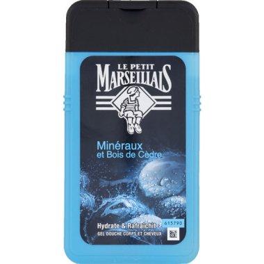 Душ гел-шампоан за мъже с кедър и минерали - Le Petit Marseillais
