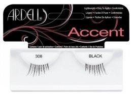 Парфюми, Парфюмерия, козметика Изкуствени мигли - Ardell Lash Accents Black 308