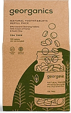 """Парфюмерия и Козметика Таблетки за почистване на зъби """"Чаено дърво"""" - Georganics Natural Toothtablets Tea Tree (пълнител)"""