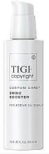 Парфюмерия и Козметика Крем-бустер за коса, за допълнителен блясък - Tigi Copyright Custom Care Shine Booster