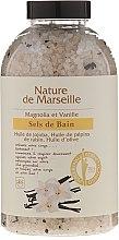 Парфюми, Парфюмерия, козметика Соли за вана с аромат на магнолия и ванилия - Nature de Marseille