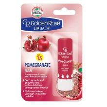 Парфюми, Парфюмерия, козметика Балсам за устни - Golden Rose Lip Balm Pomegranate SPF15