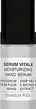 Парфюмерия и Козметика Хидратиращ серум за ръце - Alessandro International Spa Serum Vitale Moisturizing Hand Serum