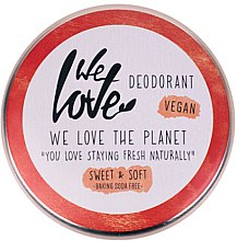 Парфюмерия и Козметика Натурален кремообразен дезодорант - We Love The Planet Deodorant Sweet & Soft