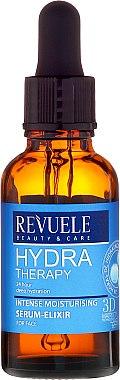 Серум за лице - Revuele Hydra Therapy Intense Moisturising Serum Elixir — снимка N2