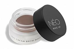 Парфюмерия и Козметика Крем за вежди - NEO Make Up Pro Cream Brow Maker