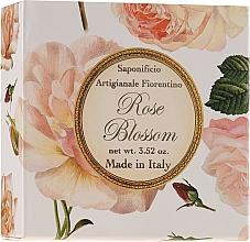 "Парфюмерия и Козметика Натурален сапун ""Роза"" - Saponificio Artigianale Fiorentino Rose Blossom Soap"