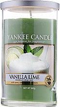"""Парфюмерия и Козметика Ароматна свещ в чаша """"Ванилия и лайм"""" - Yankee Candle Vanilla Lime"""