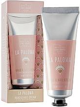 Парфюмерия и Козметика Крем за ръце и нокти - Scottish Fine Soap La Paloma Hand & Nail Cream