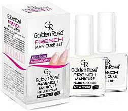 Парфюми, Парфюмерия, козметика Комплект за френски маникюр - Golden Rose French Manicure Set (nail/2x10.7ml) (01)