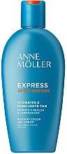 Парфюми, Парфюмерия, козметика Гел-крем за тяло за след слънчеви бани - Anne Moller Express After Sun Kiss
