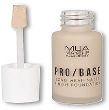 Парфюмерия и Козметика Фон дьо тен - MUA Pro Base Long Wear Matte Finish Foundation