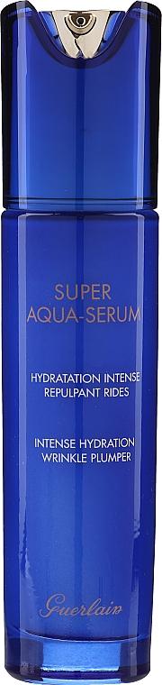 Комплект за лице - Guerlain Super Aqua Serum Set (серум/50ml + околоочен серум/5ml + маска/1бр + лосион/15ml) — снимка N5