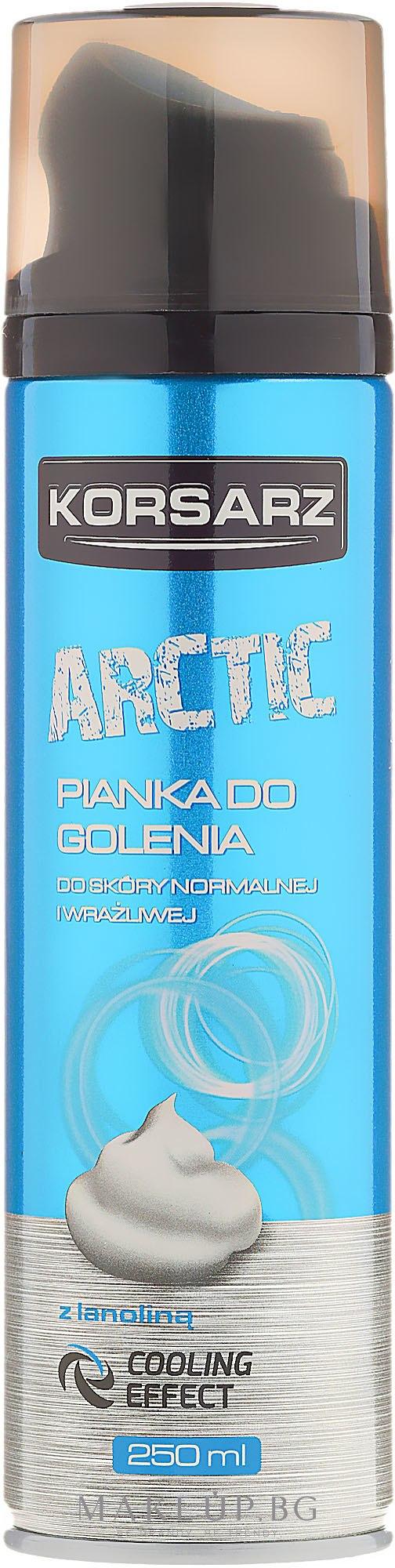 Пяна за бръснене - Pharma CF Korsarz Arctic Shaving Foam — снимка 250 ml