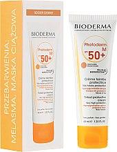 Парфюми, Парфюмерия, козметика Слънцезащитен крем - Bioderma Photoderm M SPF 50+