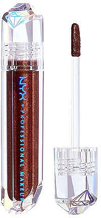 Топер за устни - NYX Professional Makeup Diamonds & Ice Please Lip Topper