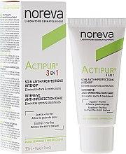 Парфюми, Парфюмерия, козметика Грижа за лице 3в1 при проблемна кожа - Noreva Actipur Intensive Anti-Imperfection Care 3in1