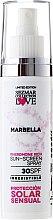 "Парфюми, Парфюмерия, козметика Слънцезащитно олио ""Марбеля"" SPF30 - Hristina Cosmetics Sezmar Collection Marbella"