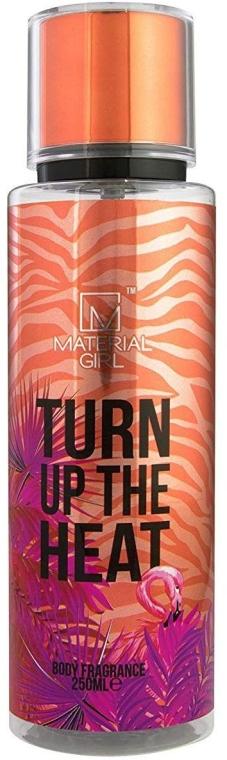 Material Girl Turn Up The Heat - Спрей за тяло — снимка N1