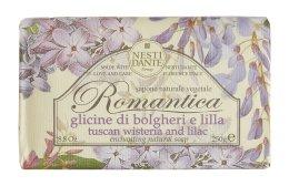 """Парфюмерия и Козметика Сапун """"Глициния и люляк"""" - Nesti Dante Romantica Tuscan Wisteria&Lilac Soap"""