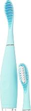 Парфюмерия и Козметика Електрическа четка за зъби с допълнителна приставка - Foreo Issa 2 Sensitive Set Mint