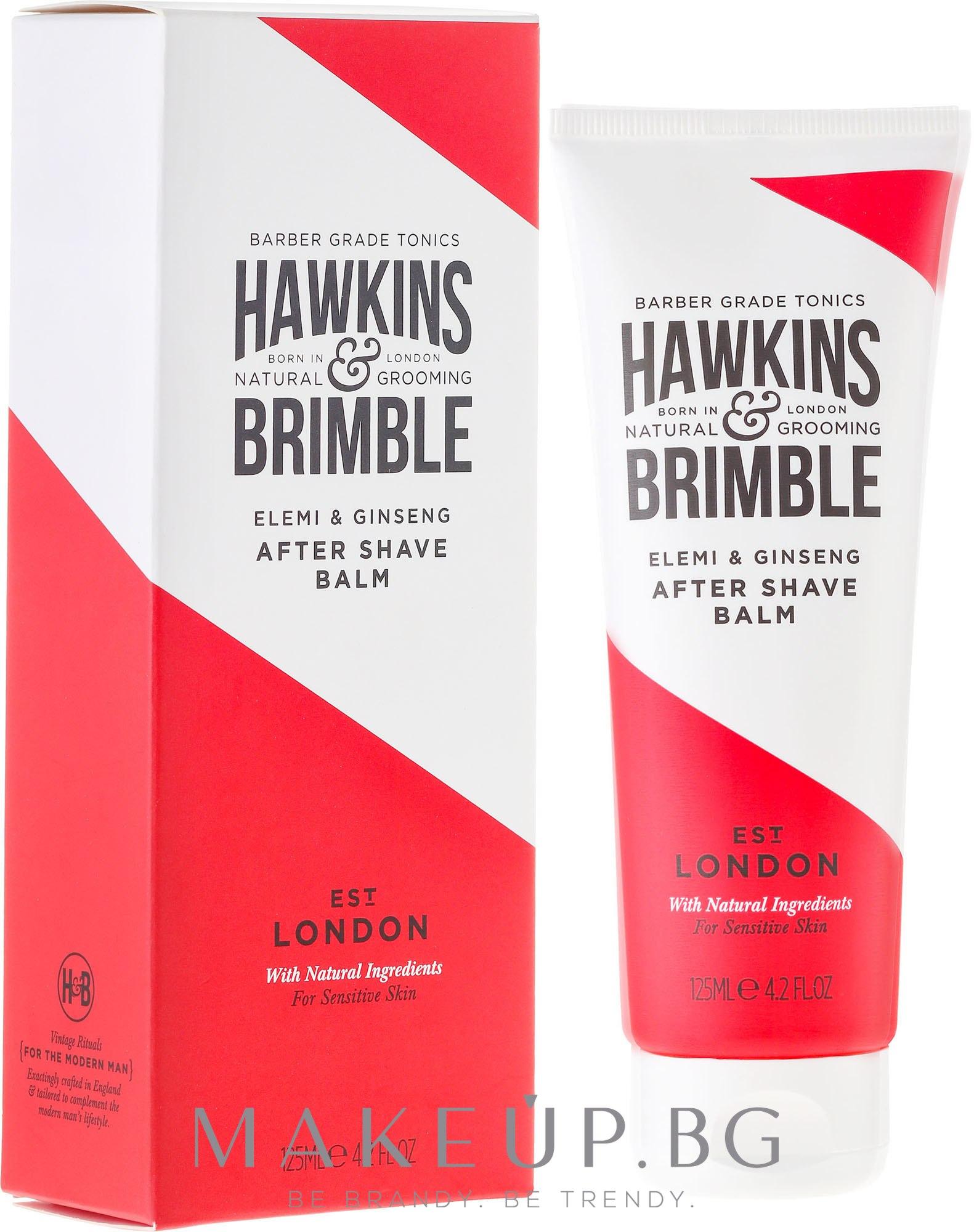 Балсам след бръснене - Hawkins & Brimble Elemi & Ginseng Post Shave Balm — снимка 125 ml