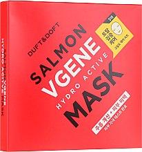 Парфюми, Парфюмерия, козметика Антистарееща маска за лице - Duft & Doft Salmon Vgene Hydro Active Mask