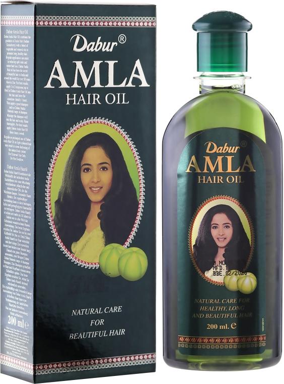 Масло за коса - Dabur Amla Hair Oil (продуктът не е подходящ за светла коса)