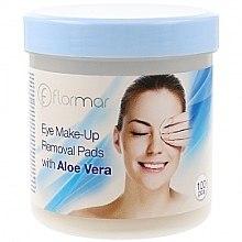 Парфюми, Парфюмерия, козметика Тампони за премахване на грим с алое вера - Flormar Eye Make-Up Removal Pads with Aloe-Vera