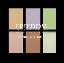 Парфюми, Парфюмерия, козметика Универсална палитра с коректори за лице - Freedom Makeup London Pro Correct Palette