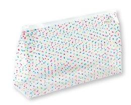 """Парфюми, Парфюмерия, козметика Козметична чанта """"Happy Dots"""", 93463 - Top Choice"""