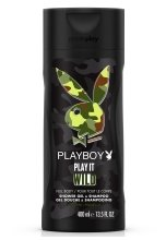 Парфюми, Парфюмерия, козметика Playboy Play It Wild for Him - Душ гел