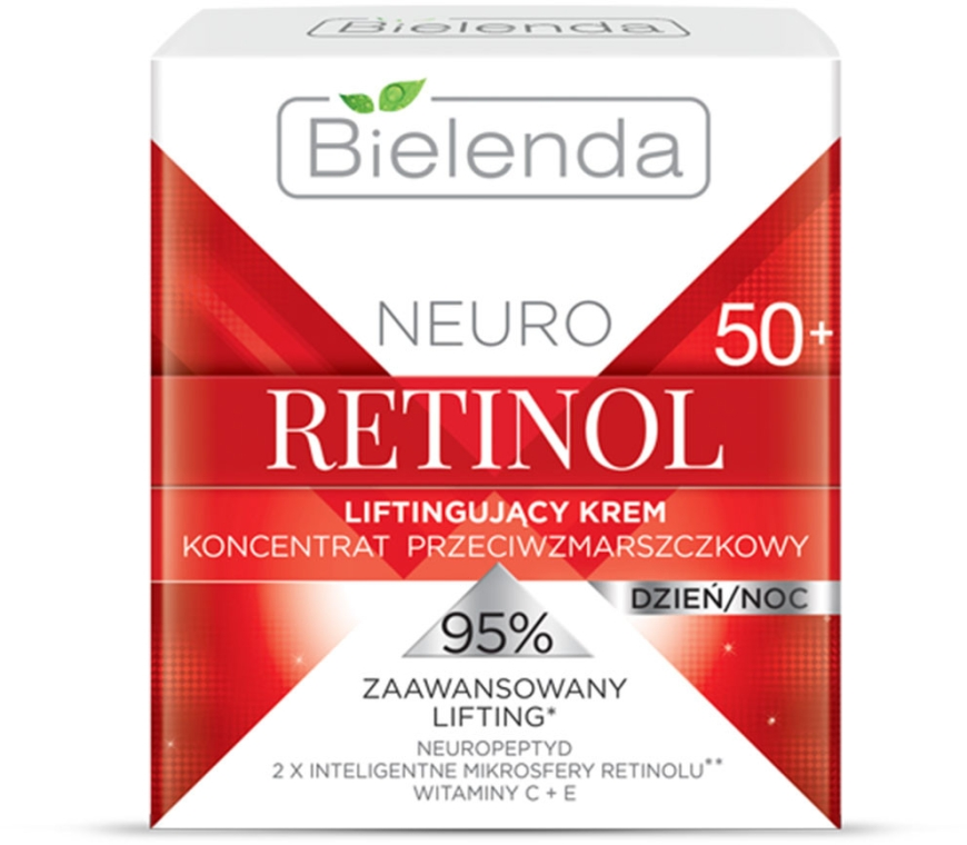 Лифтинг крем концентрат против бръчки - Bielenda Neuro..