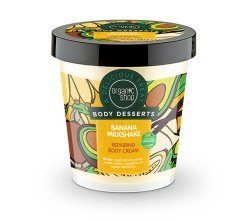 """Парфюмерия и Козметика Крем за тяло, възстановяващ """"Млечен бананов шейк"""" - Organic Shop Body Desserts Banana Milk Shake"""