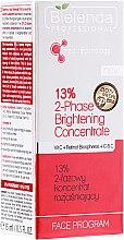Парфюми, Парфюмерия, козметика Озаряващ двуфазен концентрат 13% - Bielenda Professional Face Program 2-Phase Brightening Concentrate with Vit.C and Retinol