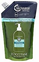 Парфюми, Парфюмерия, козметика Освежаващ шампоан за коса - L'Occitane Aromachologie Purifying Freshness Hair Shampoo (пълнител)