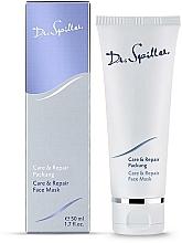 Парфюмерия и Козметика Възстановяваща маска за лице с подмладяващ ефект - Dr. Spiller Care & Repair Face Mask