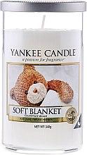"""Парфюми, Парфюмерия, козметика Ароматна свещ в чаша """"Меко одеяло"""" - Yankee Candle Soft Blanket"""