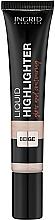 Парфюмерия и Козметика Хайлайтър за лице - Ingrid Cosmetics Liquid Highlighter