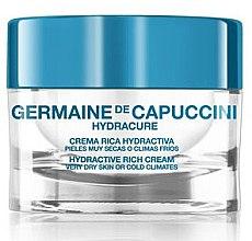 Парфюми, Парфюмерия, козметика Крем за много суха кожа - Germaine de Capuccini HydraCure Rich Cream Very Dry Skin