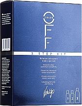 Парфюмерия и Козметика Комплект за премахване на изкуствения цвят на косата - Vitality's Color Off 3 Step Kit
