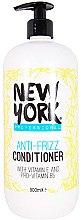 Парфюмерия и Козметика Изглаждащ балсам за коса - I love New York Professional Anti Frizz Conditioner