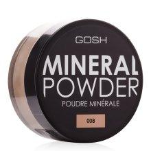 Парфюмерия и Козметика Минерална пудра за лице - Gosh Mineral Powder