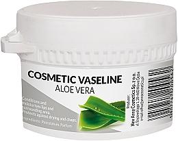 Парфюмерия и Козметика Козметичен вазелин за лице и устни с алое вера - Pasmedic Cosmetic Vaseline Aloe Vera
